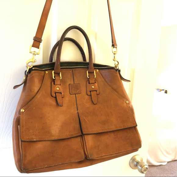 Dooney & Bourke Handbags - Dooney & Bourke Florentine Leather Handbag